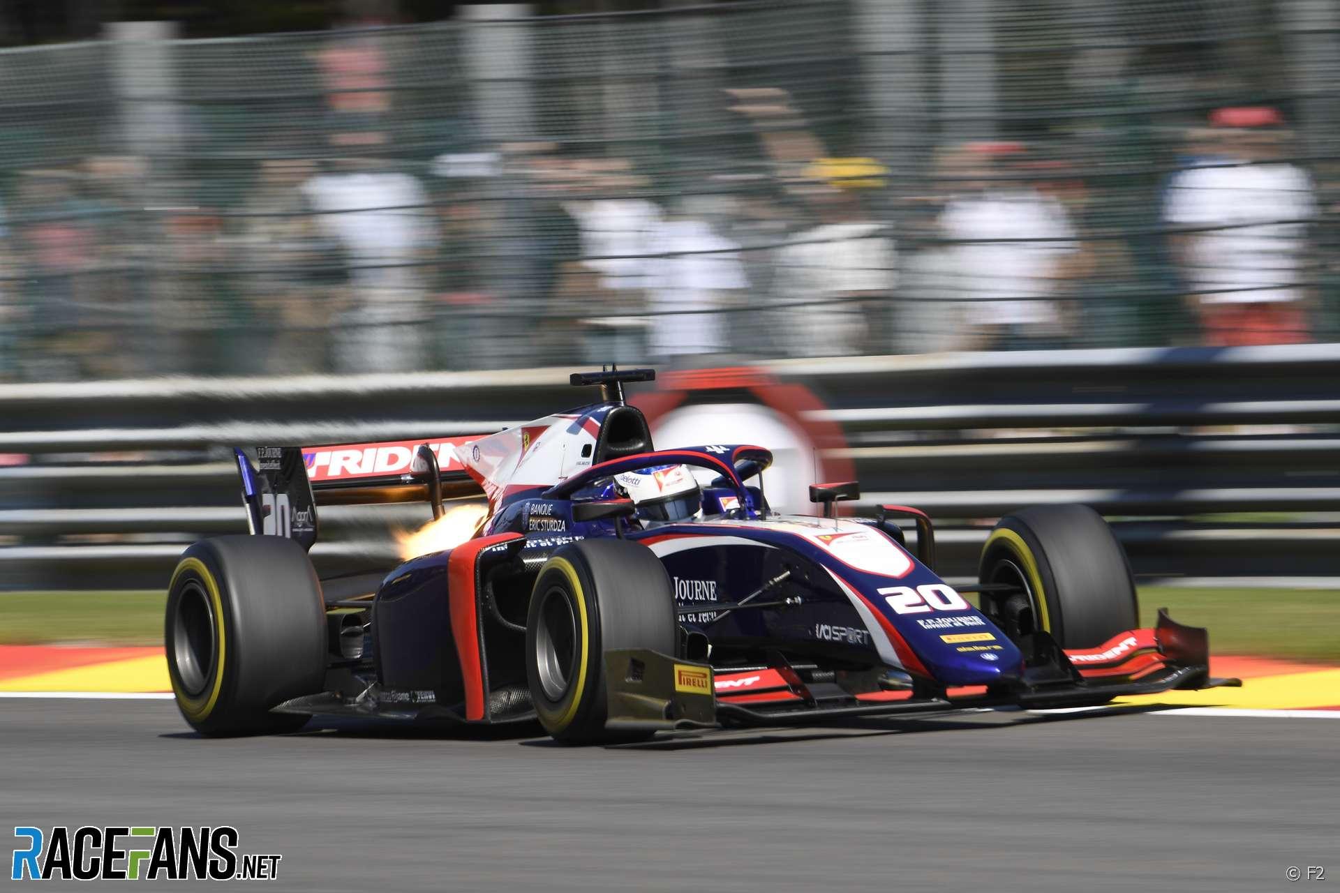 Giuliano Alesi, Trident, Formula 2, Spa, 2019