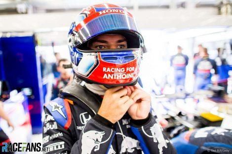 Pierre Gasly, Toro Rosso, Spa-Francorchamps, 2019