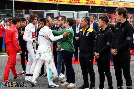 Lewis Hamilton, Mercedes, Spa-Francorchamps, 2019