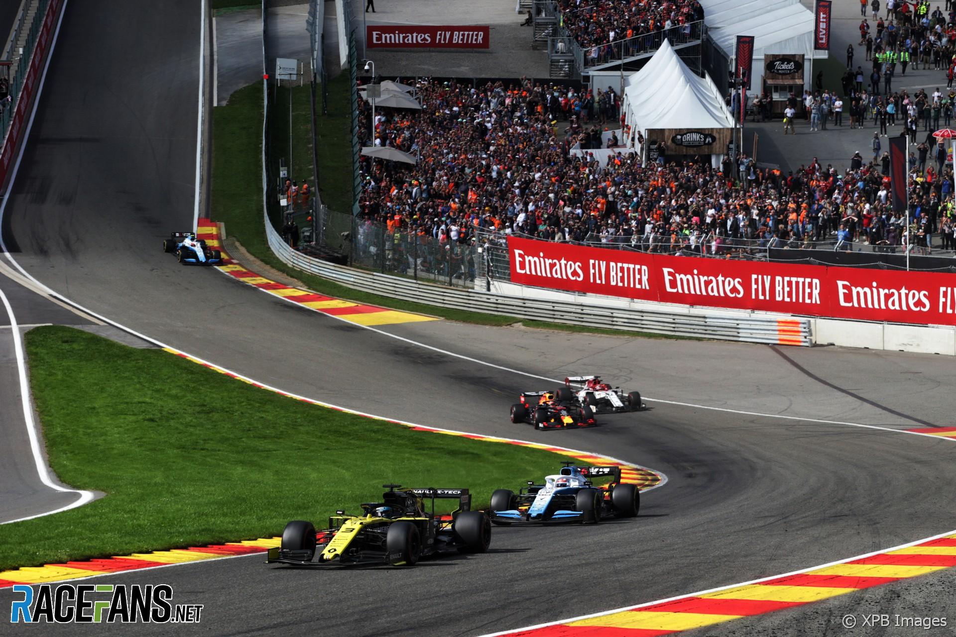Daniel Ricciardo, Renault, Spa-Francorchamps, 2019