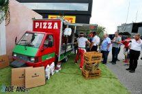 Pizza van, Monza, 2019