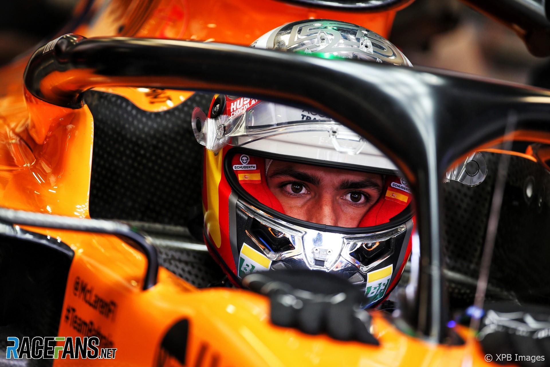 Carlos Sainz Jnr, McLaren, Monza, 2019