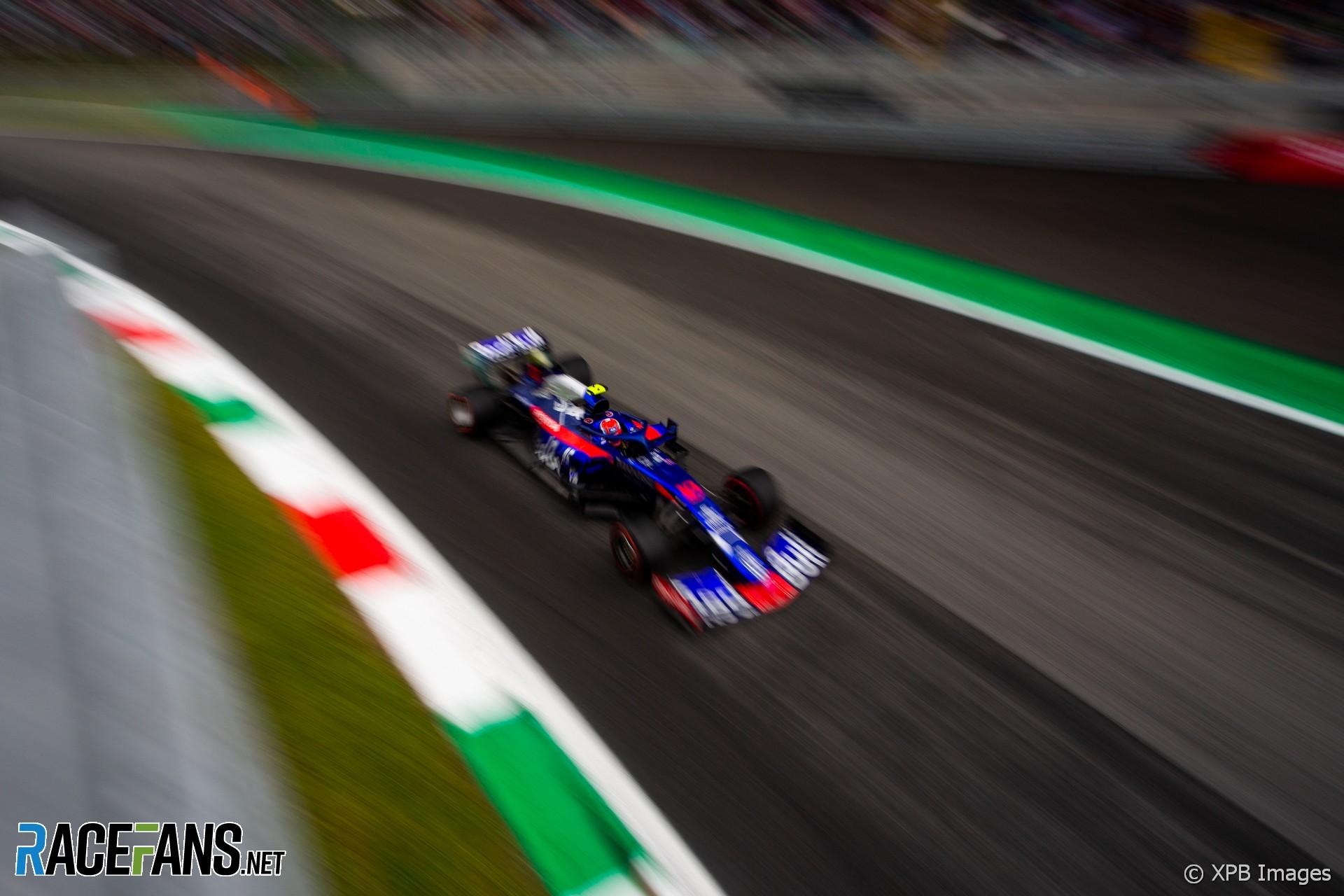 Pierre Gasly, Toro Rosso, Monza, 2019