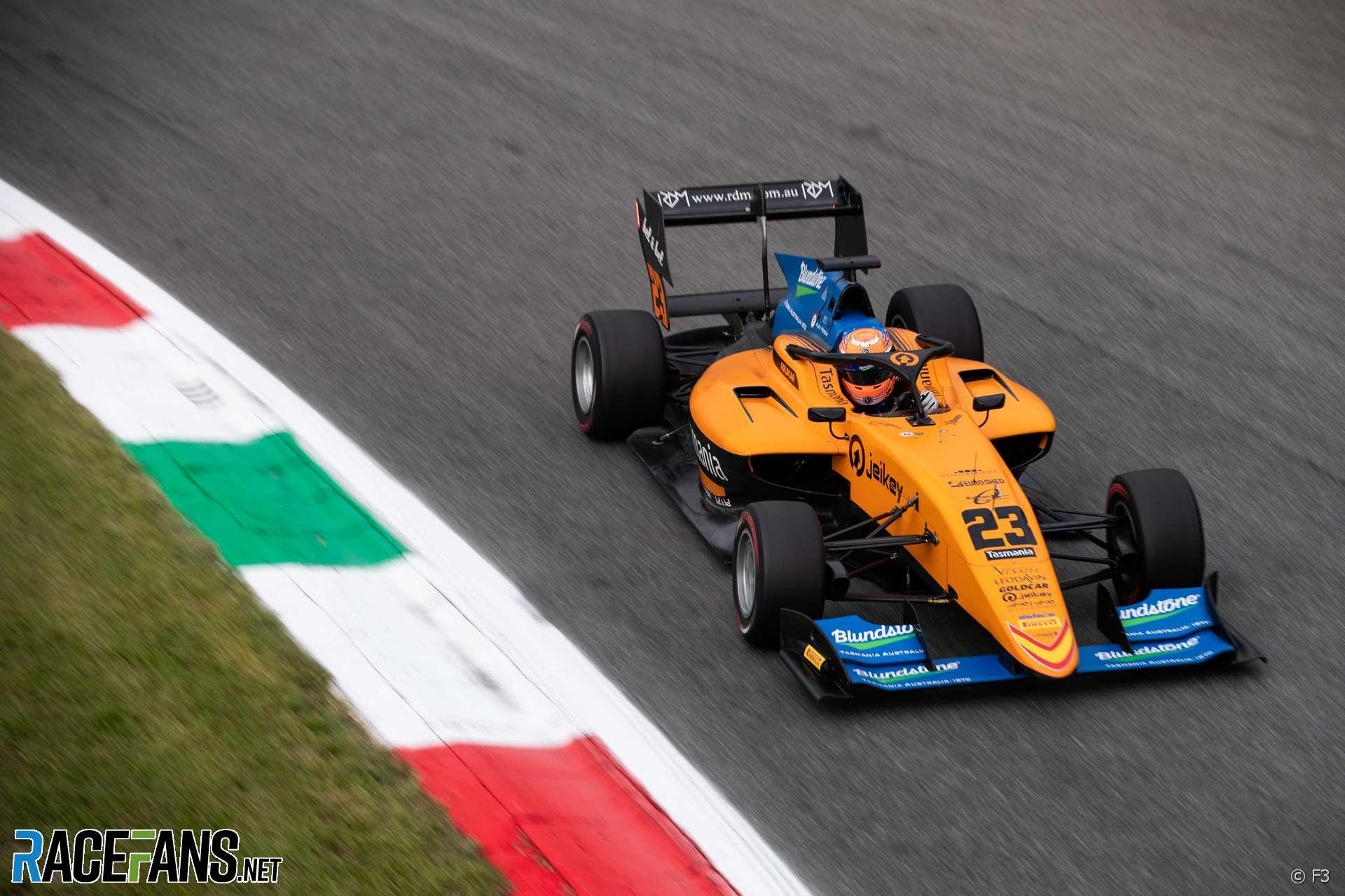 Alex Peroni, F3, Campos, Monza, 2019