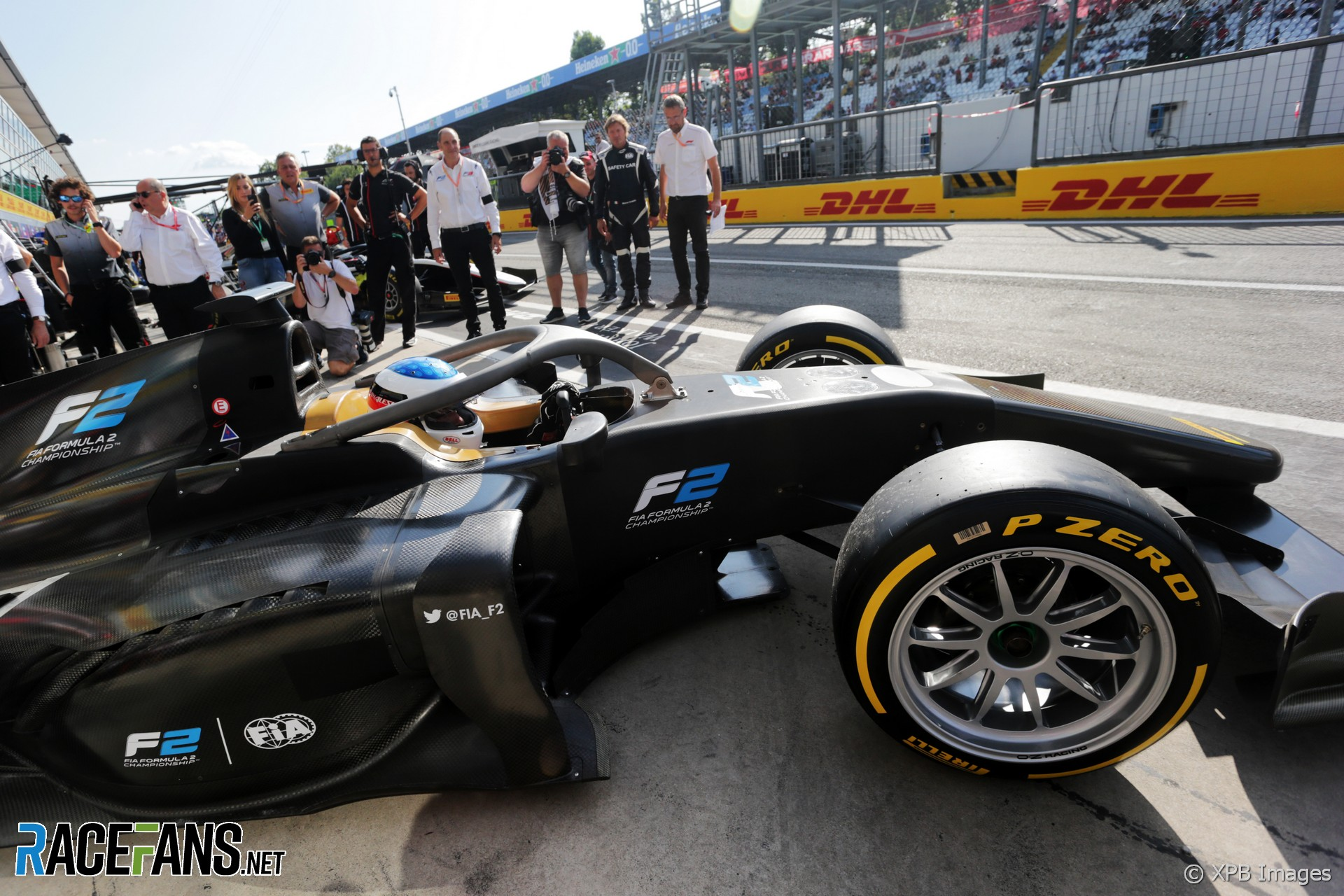 18 inch F2 tyres at Monza