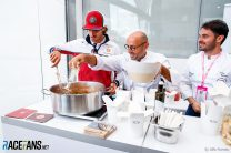 Caption Competition 158: Giovinazzi in the kitchen