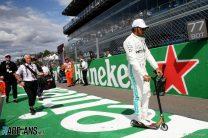 Caption Competition 165: Hamilton arrives on the grid