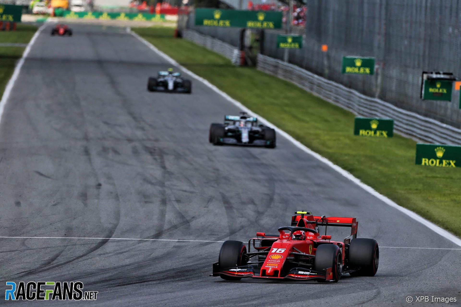 Charles Leclerc, Ferrari, Monza, 2019