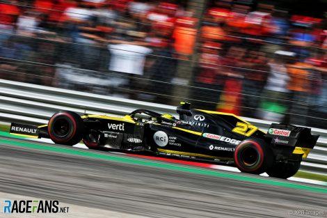 Nico Hulkenberg, Renault, Monza, 2019