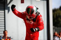 """Why Binotto told Leclerc """"today you are forgiven"""" after Monza win"""