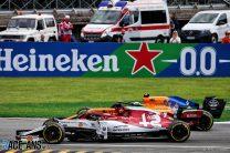 Kimi Raikkonen, Lando Norris, Monza, 2019