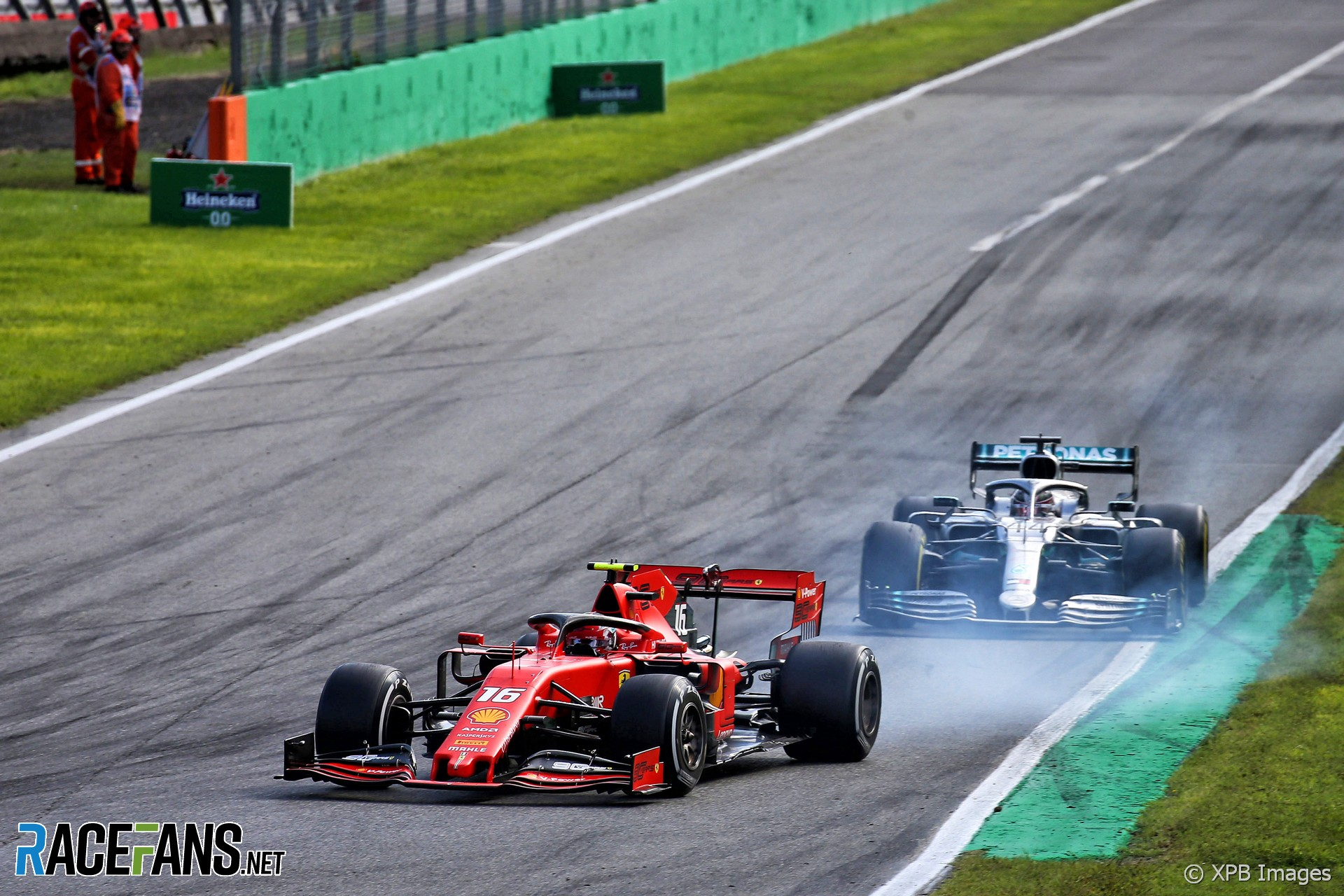 "Leclerc says fight with Hamilton was ""very on the limit"""