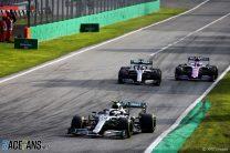 Valtteri Bottas, Mercedes, Monza, 2019