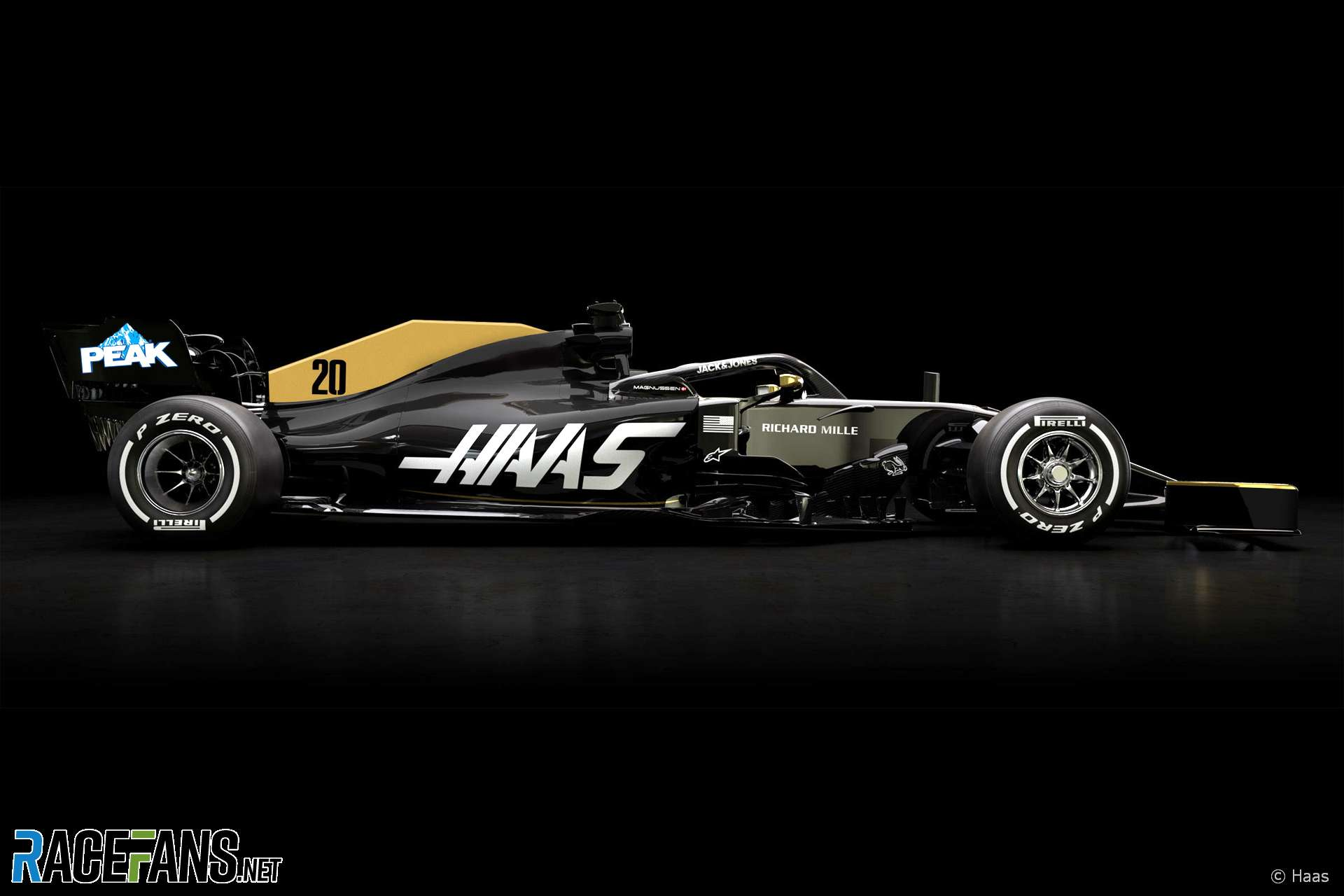 F1 Haas Reveals First Image Of Car Without Rich Energy Branding