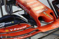 Ferrari adds cape with nose update in Singapore