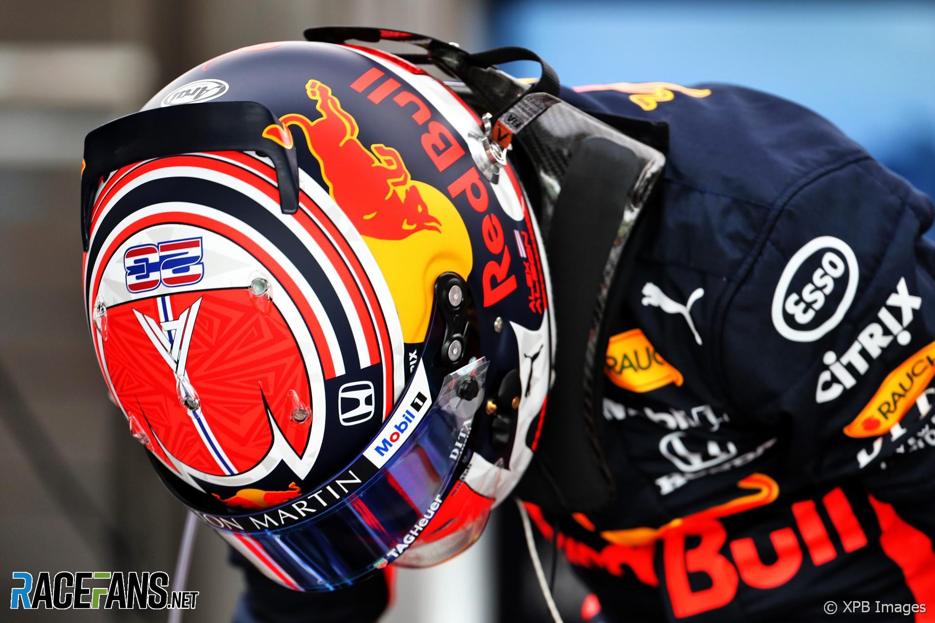 Alexander Albon, Red Bull, Singapore, 2019