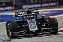 Romain Grosjean, Haas, Singapore, 2019
