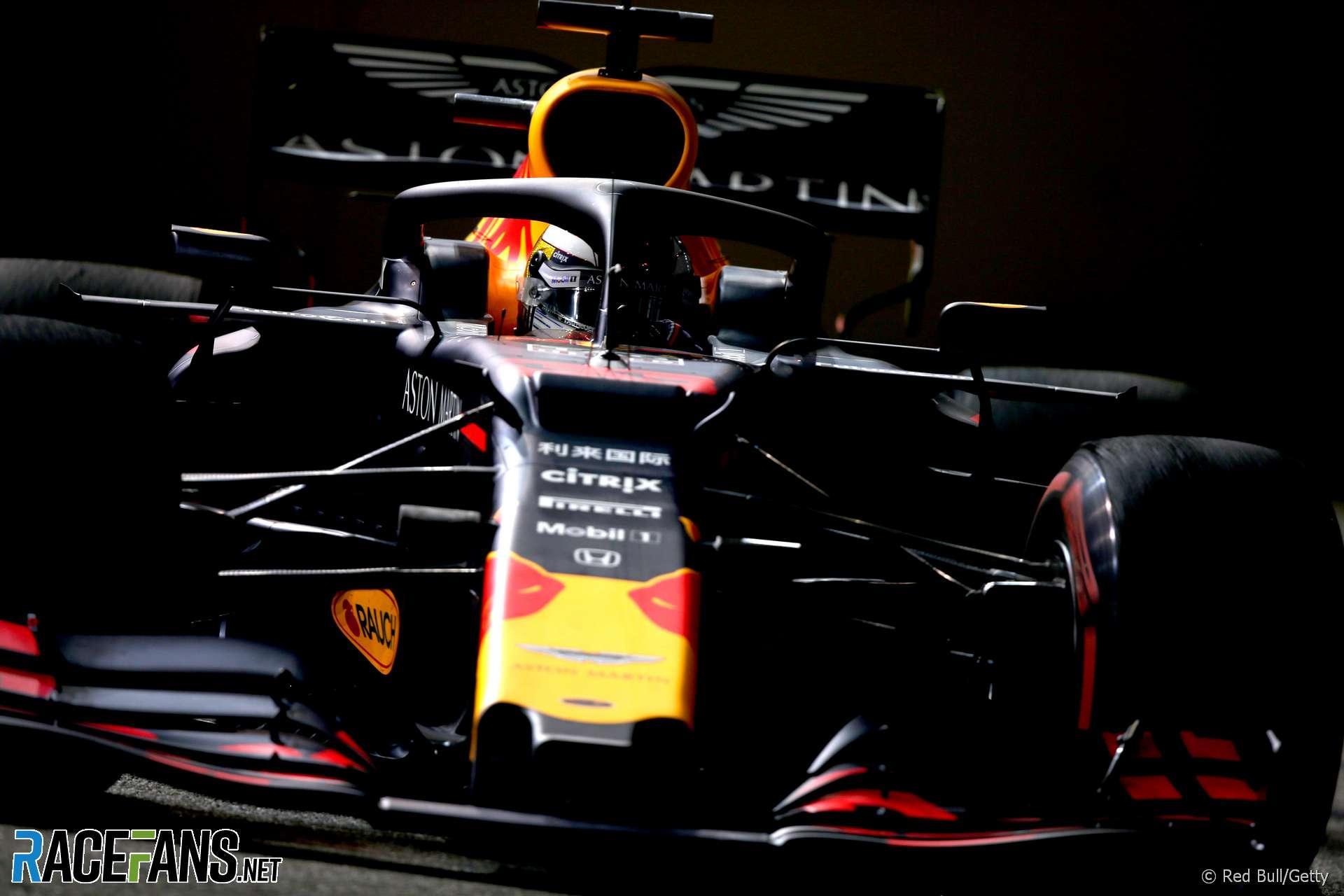 Max Verstappen, Red Bull, Singapore, 2019