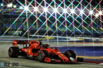 Leclerc takes Singapore pole from Vettel with final lap