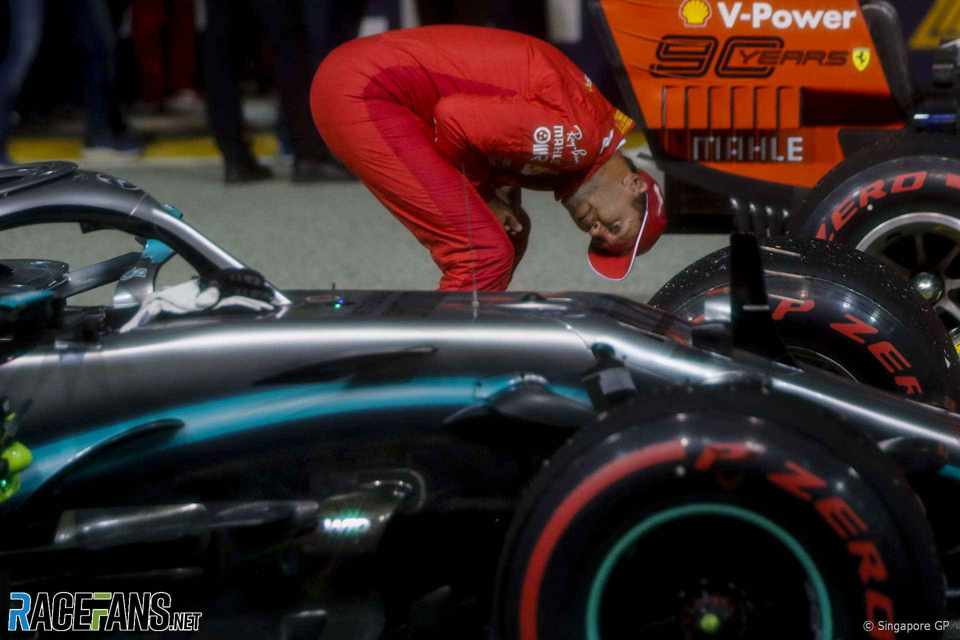 Ferrari not lacking anything to beat Mercedes to titles – Vettel