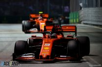 Ferrari tuned car for one-lap pace in Singapore – Wolff