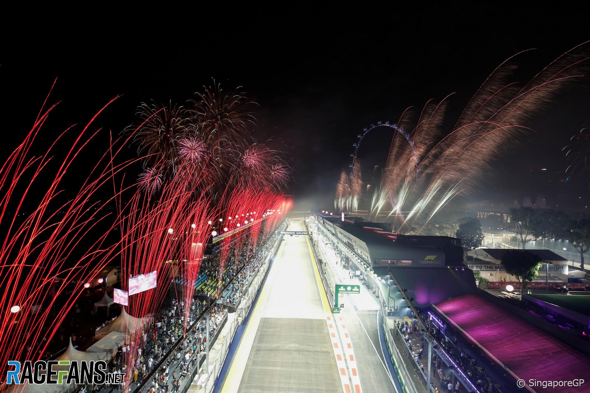 Fireworks, Singapore, 2019