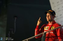 Ferrari strategy helps Vettel to first win in over a year