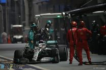 """Mercedes admits it """"missed an open goal"""" with Hamilton's strategy"""