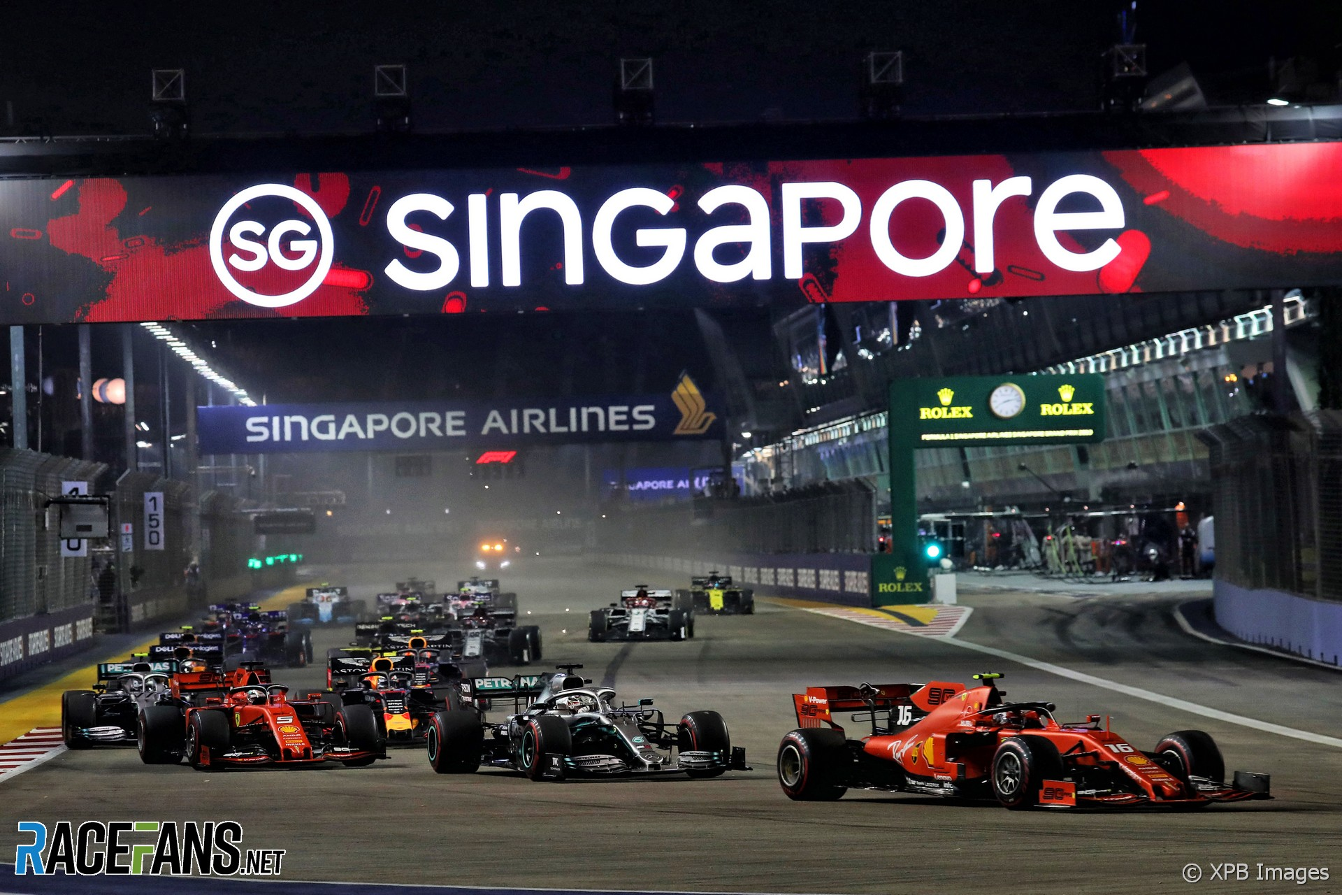 Start, Singapore, 2019