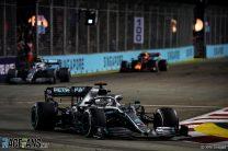 Mercedes slowed Bottas to protect Hamilton from Albon