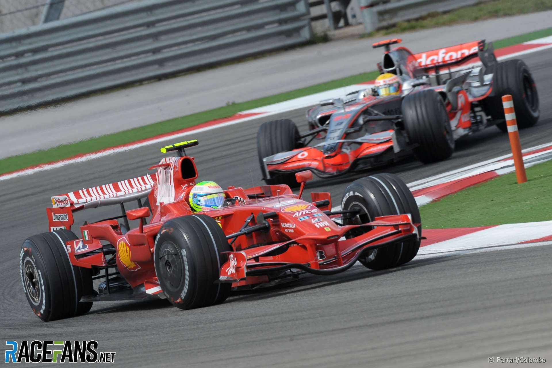 Felipe Massa, Lewis Hamilton, Istanbul, 2008