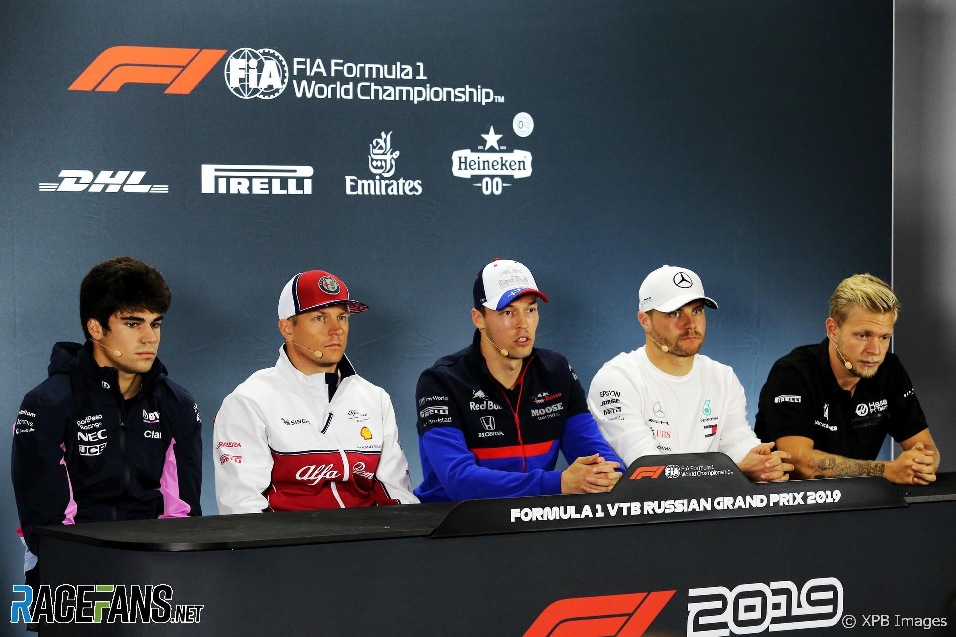 Drivers, Sochi Autodrom, 2019