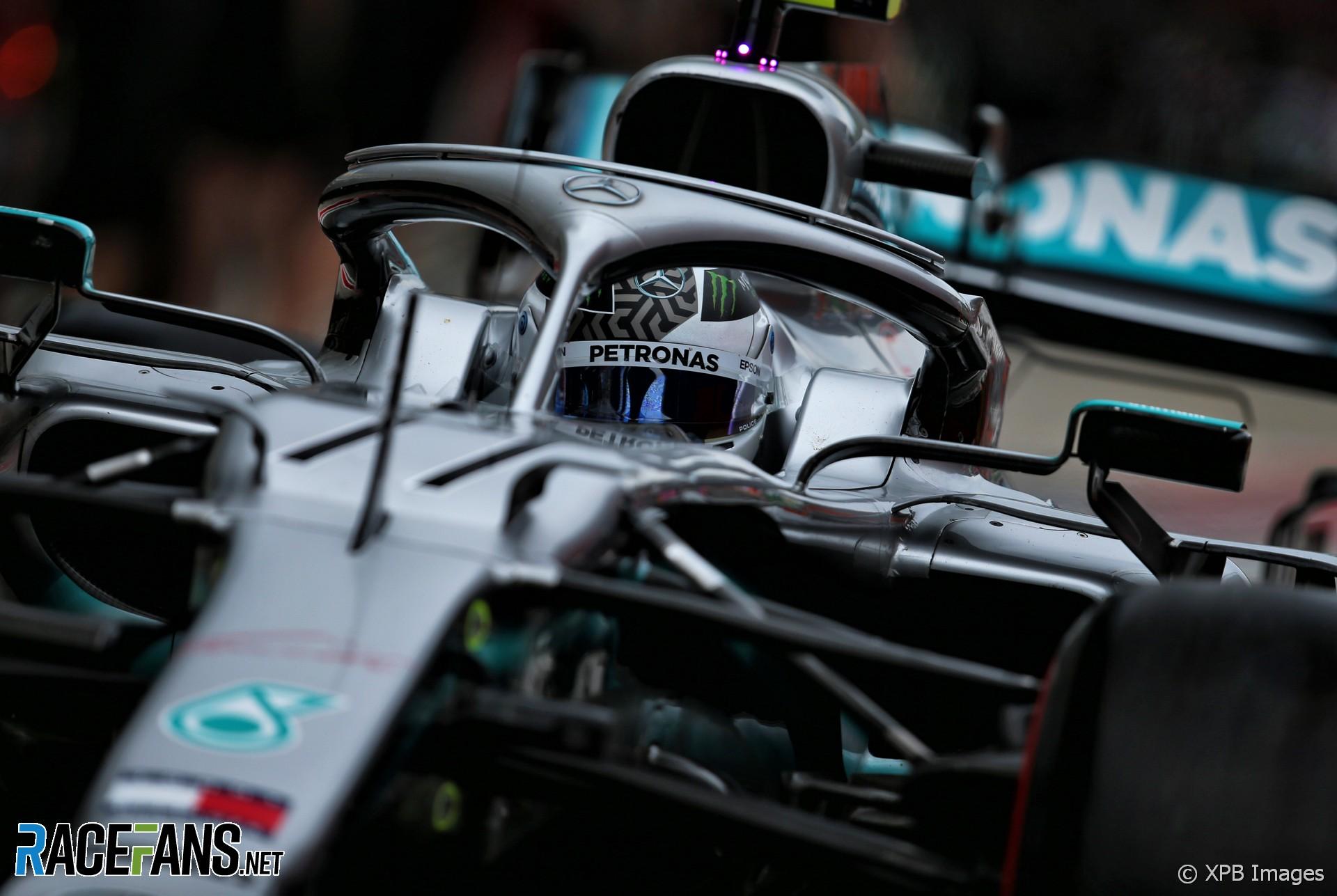 Valtteri Bottas, Mercedes, Sochi Autodrom, 2019