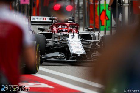 Kimi Raikkonen, Alfa Romeo, Sochi Autodrom, 2019
