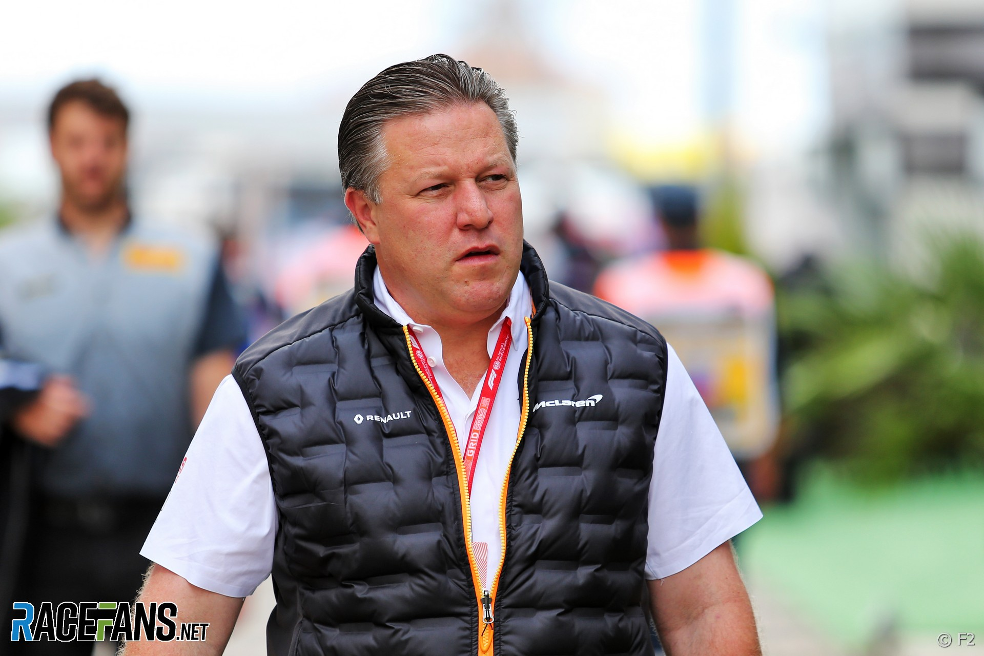 Zak Brown,. McLaren, Sochi Autodrom, 2019