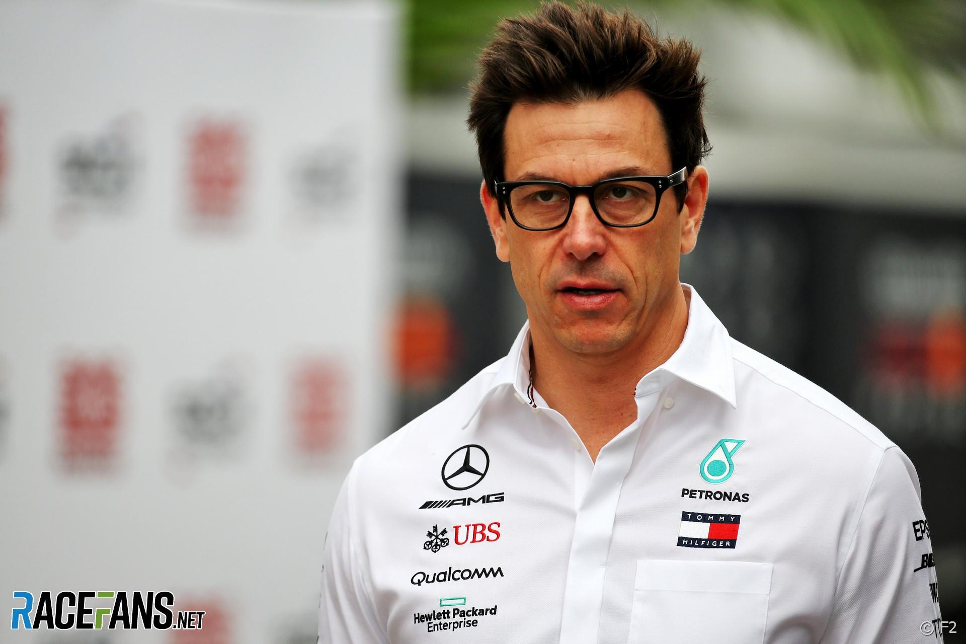 Toto Wolff, Mercedes, Sochi Autodrom, 2019