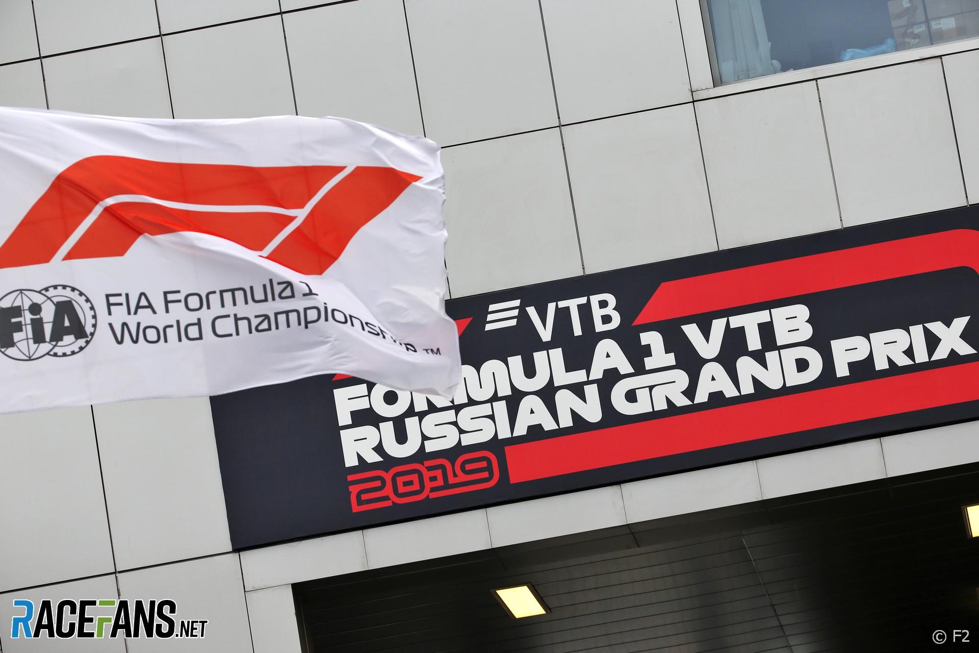 Paddock, Sochi Autodrom, 2019