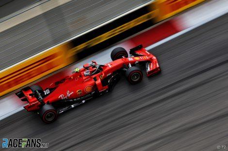 Charles Leclerc, Ferrari, Sochi Autodrom, 2019