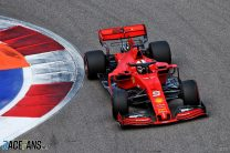 2019 Russian Grand Prix grid