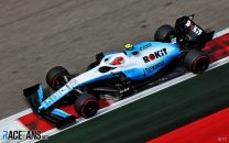 Williams retired Kubica's car to conserve parts