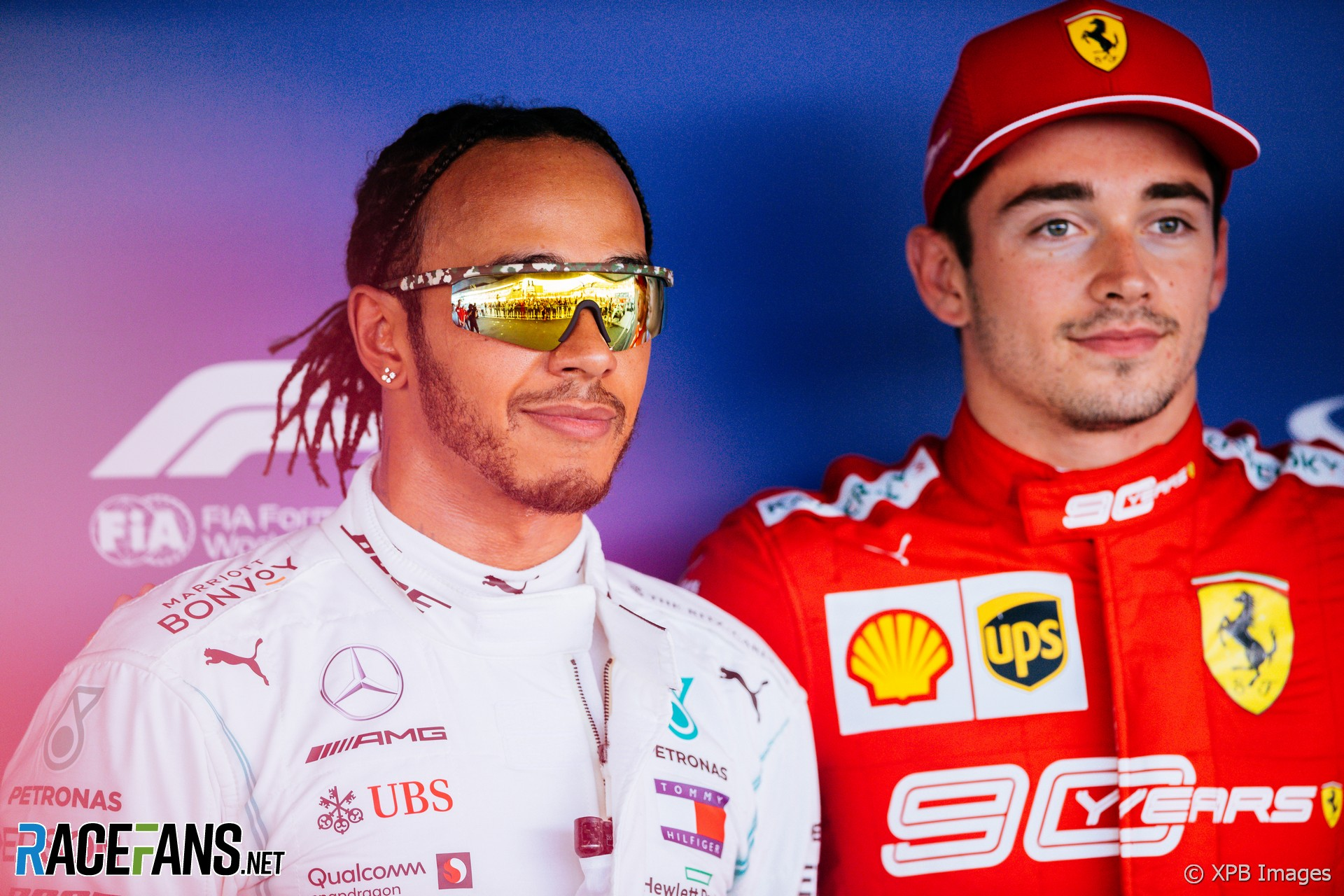 """Hamilton: Ferrari can """"blast past with the jet fuel"""" at the start"""