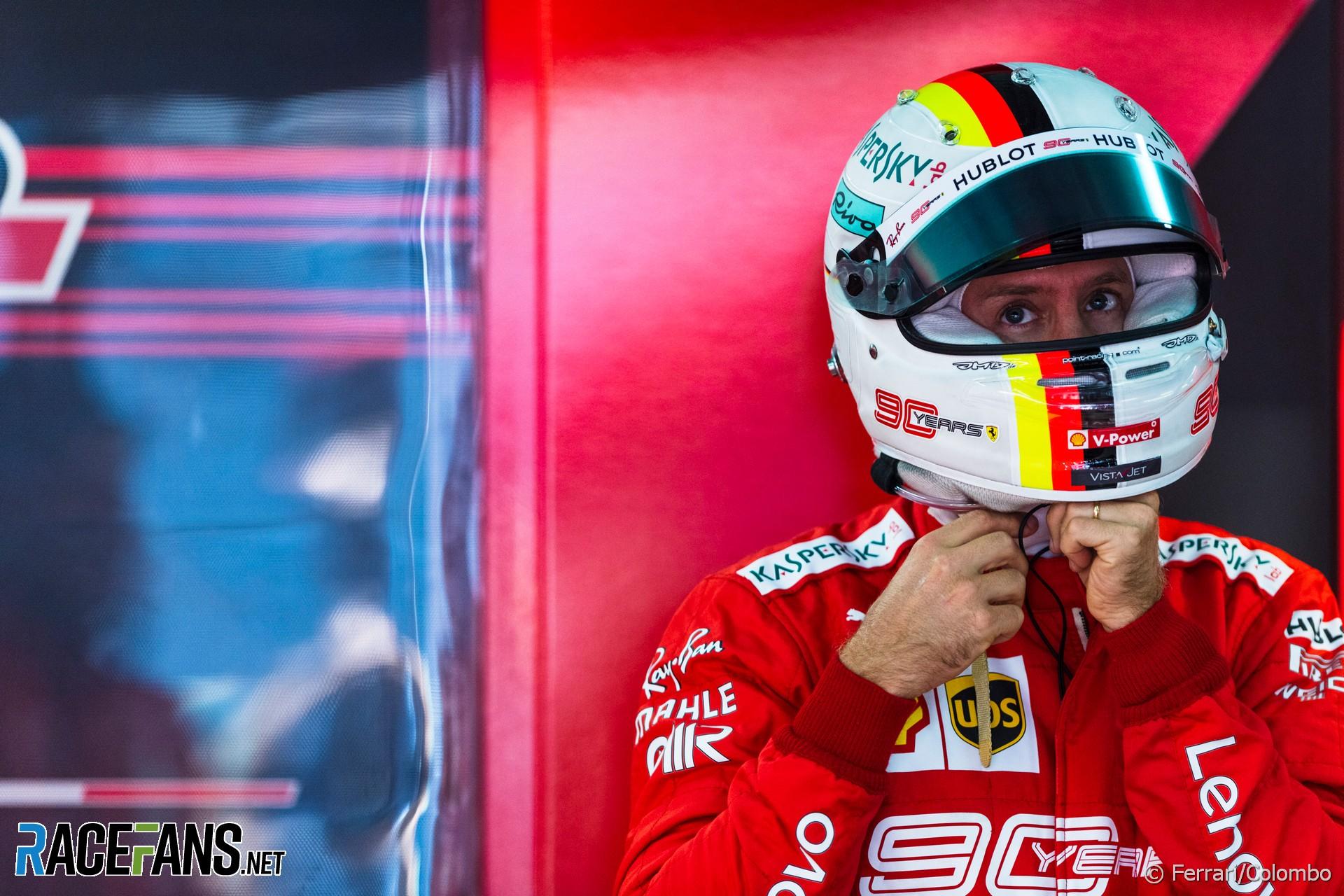 Sebastian Vettel, Ferrari, Sochi Autodrom, 2019