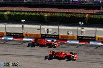 Vettel confirms Ferrari had pre-race agreement for start after defying team orders