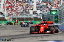 """Leclerc: Ferrari told Vettel to give up lead because starts """"were identical"""""""