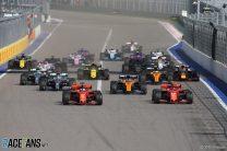 2020 Russian Grand Prix TV Times