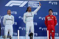 Valtteri Bottas, Lewis Hamilton, Charles Leclerc, Sochi Autodrom, 2019