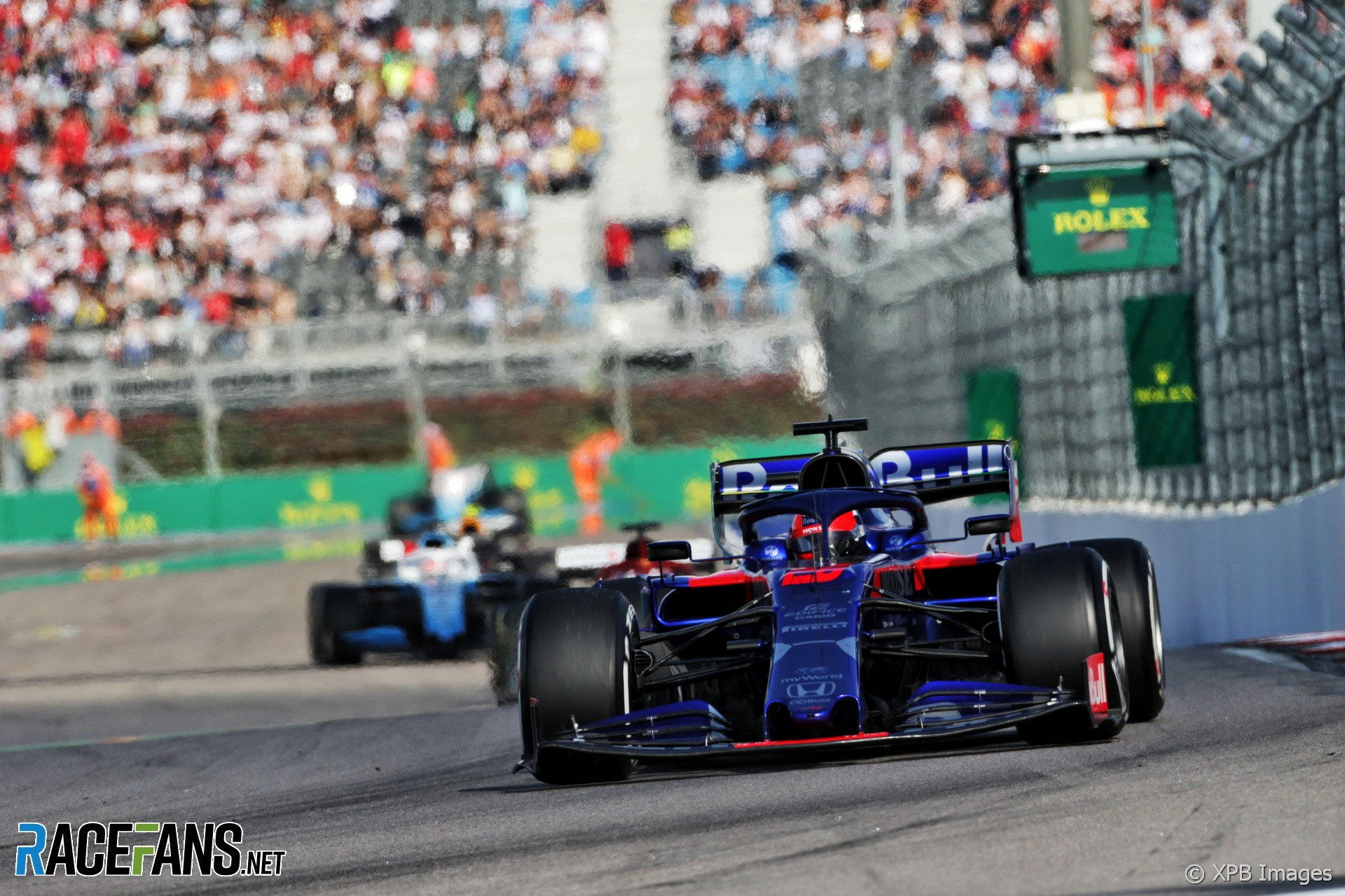 Daniil Kvyat, Toro Rosso, Sochi Autodrom, 2019