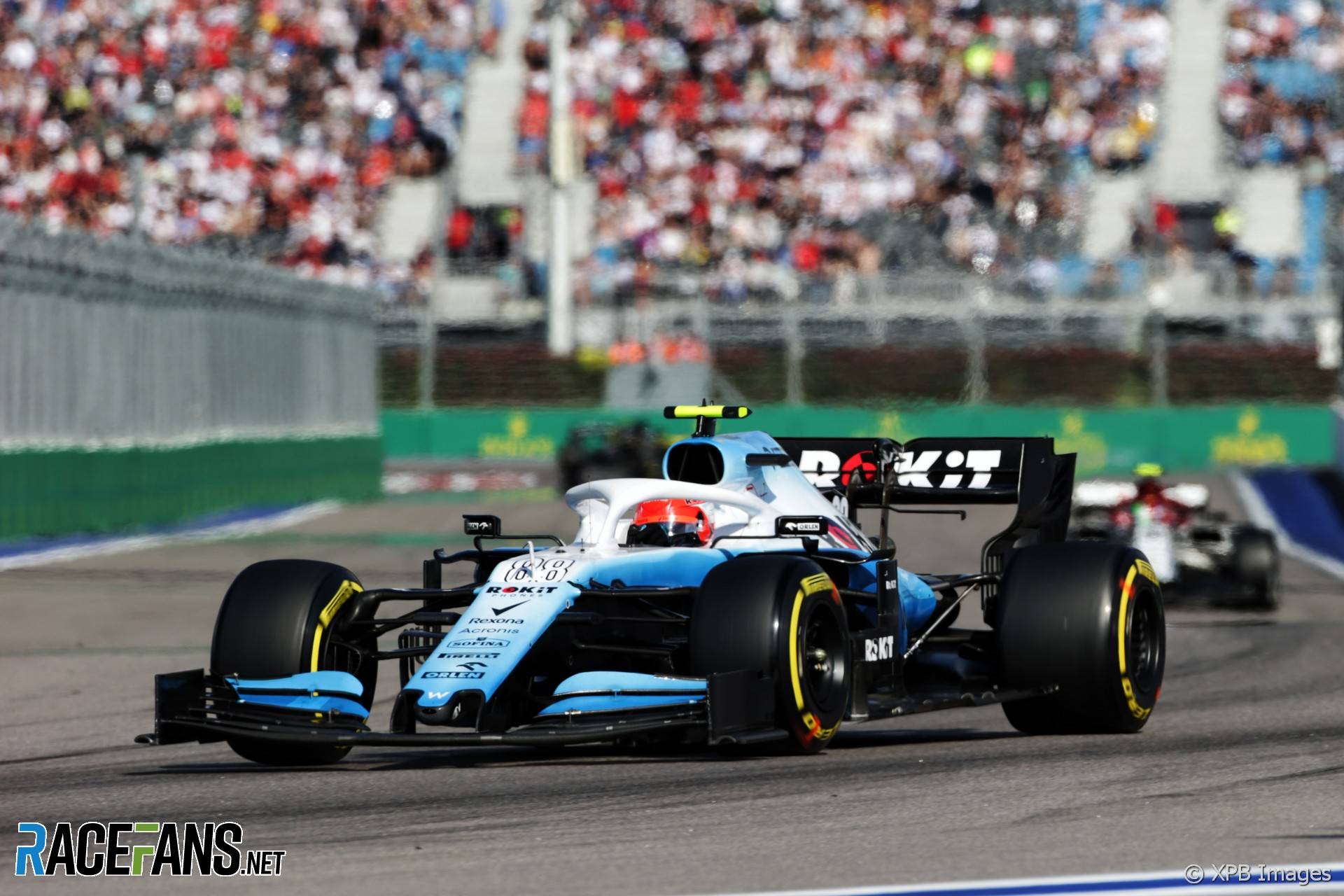 Robert Kubica, Williams, Sochi Autodrom, 2019