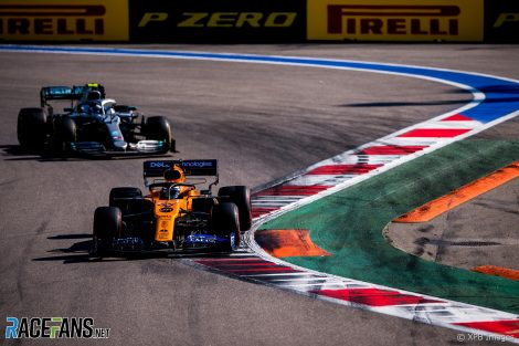 Carlos Sainz Jnr, McLaren, Sochi Autodrom, 2019