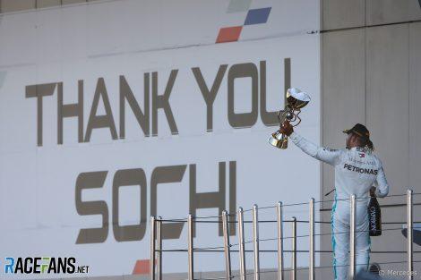 Lewis Hamilton, Mercedes, Sochi Autodrom, 2019